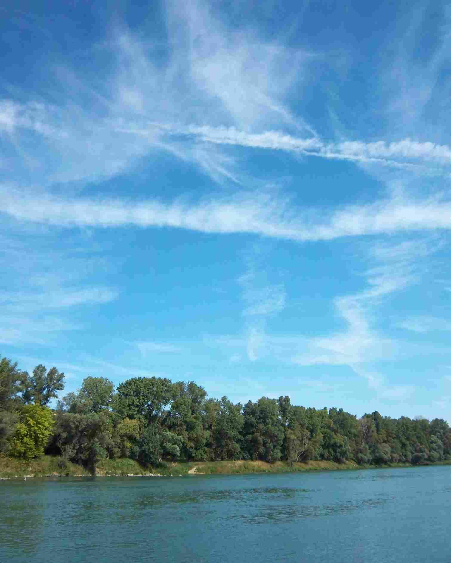 Le Rhône à Feyzin - Photo de Patrick Huet