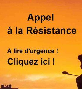 Appel à la Résistance!