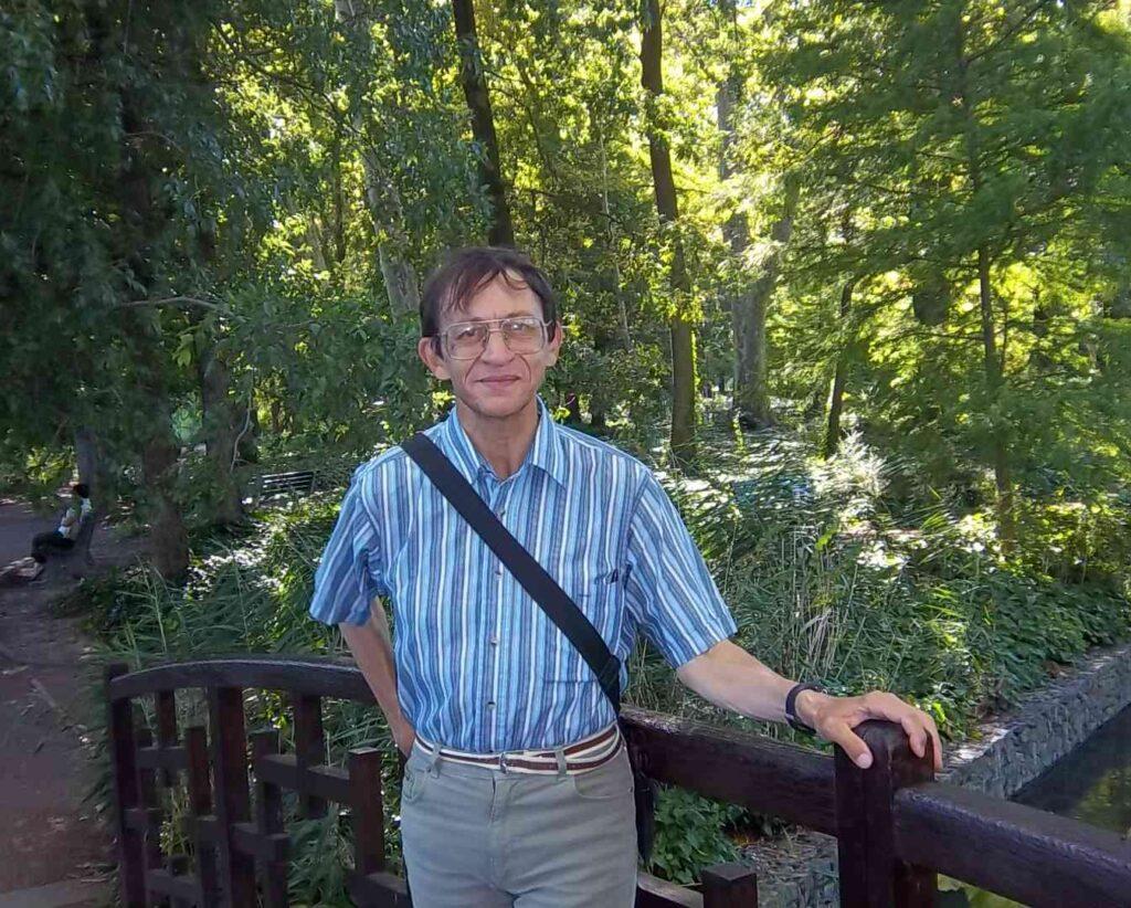 Patrick Huet au Parc de la Tête d'Or